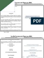 Matriz Ley No. 822 - LCT - Reglamento 15Ene12