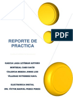 Reporte de Practica