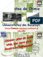 Prezentare Targul Educatiei 2014 (Facultatea Chimie)