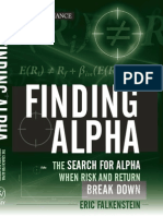 46101616 Finding Alpha the Search for Alpha When Risk and Return Break Down