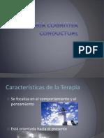 Teoría Cognitiva Conductual - Clase