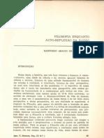 Filosofia Enquanto Auto-reflexão Da Razão (Manfredo de Oliveira)
