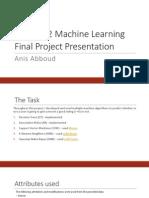 CMSC422 Project Presentation