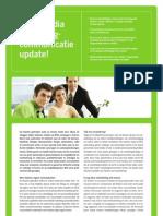 Crossmedia marketingcommunicatie update!