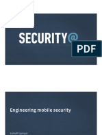 Engineering Mobile Security