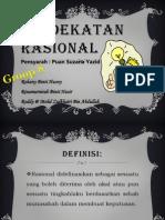 Moral - Pendekatan Rasional