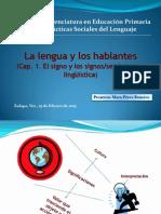 CAP 1 La Lengua Los Hablantes