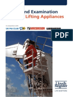 Survey and Examination of Ships Lifting Appliances