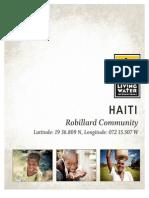 living water international haiti trip report 2014