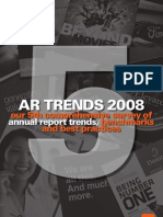 Annual Report Trends 2008