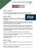 Statuts_NouveauCentre