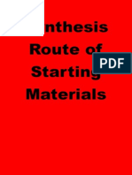 Synthesis Route of Starting Material1