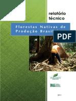 Livro Florestas Nativas de Producao Brasileiras