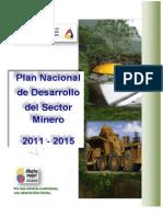 Plan Nacional de Desarrollo Minero