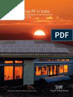 Solar Rooftohkjhkjscp PV in India