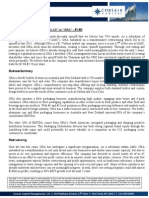 Corsair Capital - Orora Limited Investment Thesis