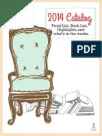2014 Mountcastle Company Catalog