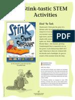 Stink and the Shark Sleepover Teachers' Guide