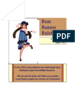 Rum Runner Game Rules
