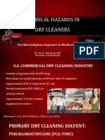 chemical exposure in dry cleaners