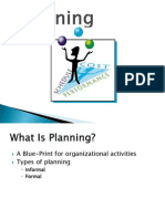 Session Organizational Planning