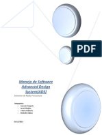 Manejo de Software Advanced Design System