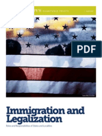 Immigration and Legalization, April 2014