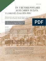 Inmigración y Sectores Populares en Las Minas de Carbón de Lota y Coronel - Chile 1859-1990 -Calos Vivallos & Alejandra Brito