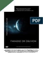 PARADISE OR OBLIVION ENLACES información ebr objetivos y propuestas información de contacto