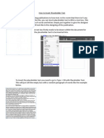 How to Insert Placeholder Text