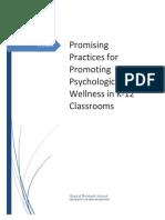 psychological wellness