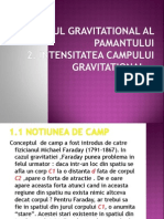 Campul Gravitational.intensitatea Campului