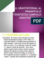 Campul Gravitational.intensitatea Campului