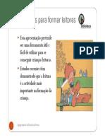 Microsoft PowerPoint - Conselhos Para Formar Leitores