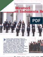 Susunan Kabinet Indonesia Bersatu 2009