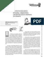 2006 Proyecto Educativo Integral Comunitario