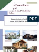 Visita Domiciliaria Integral SSVQ