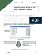 TP1 2 Initiation Environnement AutoCAD 2006