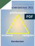 Spiritism Booklet - Sir William Crookes Spiritist Society