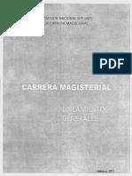Lineamientos de Carrera Magisterial 2011 2012