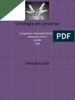 Ontología Del Conversar