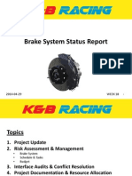 K&B Brake Status Report II