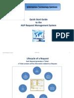 AUP RequestManagementSystem QuickStartGuide 0