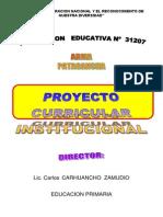 PCI.DE LA I.E. Nº31207 -2012