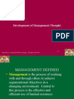 2 Development of Management Thought