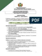 CDO 078 CBBA Tecnológico Agropecuario Canadá