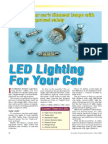 LED Lighting for Your Car