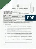 Resoluçao 2ª Freq 2013-2014