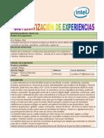 formato sistematizacin de experiencias
