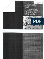 Denzin and Lincoln 2003 Collecting and Interpreting Qualitative Materials